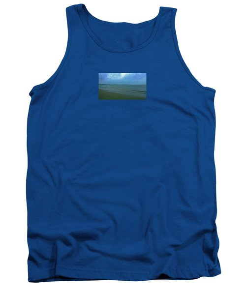 Into The Blue Tank Top by Anne Kotan