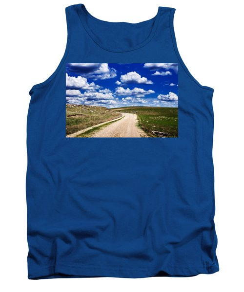 Into The Clouds Tank Top