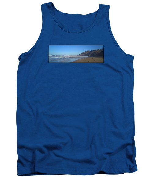 Irish Beach With Border Tank Top