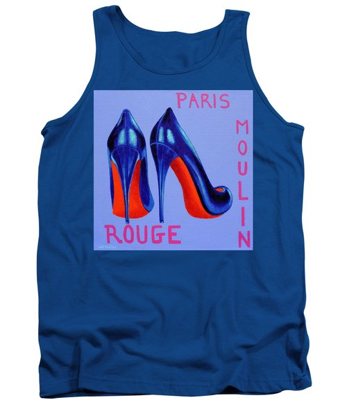 Irish Burlesque Shoes Tank Top