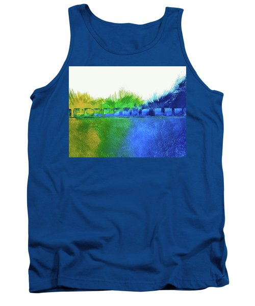 Tank Top featuring the painting Is It Any Wonder by Everette McMahan jr