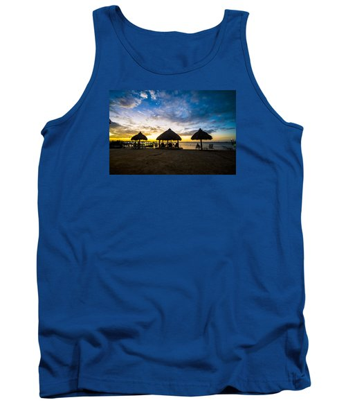 Island Huts Sunset Tank Top
