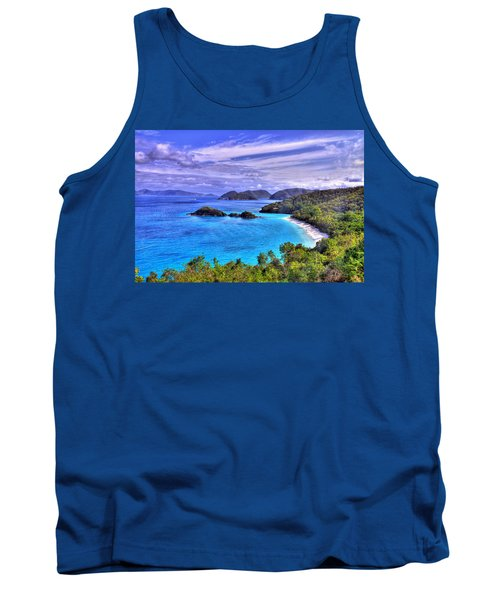 Isle Of Sands Tank Top by Scott Mahon