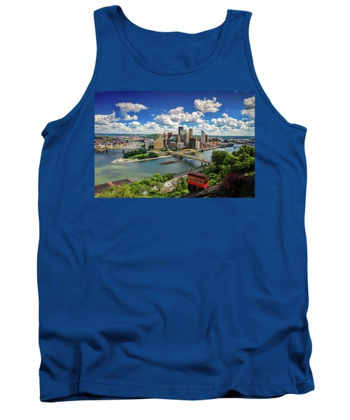 Tank Top featuring the photograph It's A Beautiful Day In The Neighborhood by Emmanuel Panagiotakis