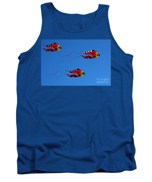 It's A Kite Kind Of Day Tank Top by Clayton Bruster