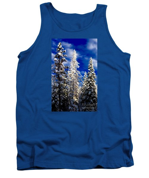 Its Now Crystal Clear Tank Top by Jennifer Lake