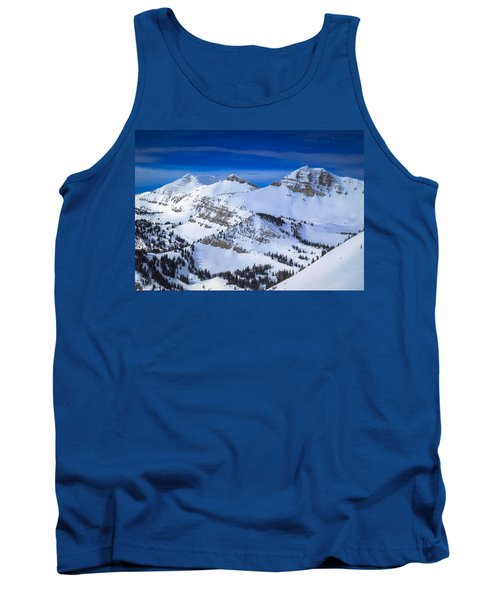 Tank Top featuring the photograph Jackson Hole, Wyoming Winter by Serge Skiba