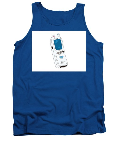 Japanese Classic Phone Tank Top