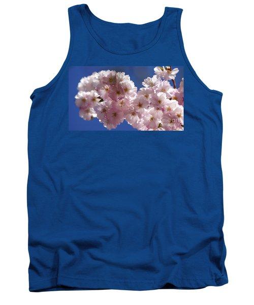 Japanese Flowering Cherry Prunus Serrulata Tank Top