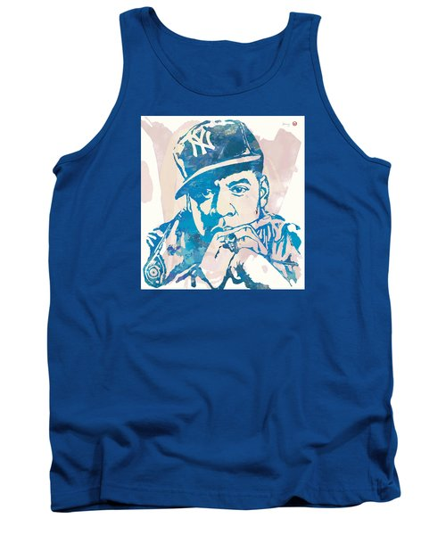 Jay-z  Etching Pop Art Poster Tank Top