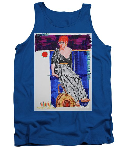 Jazz On The Square Tank Top