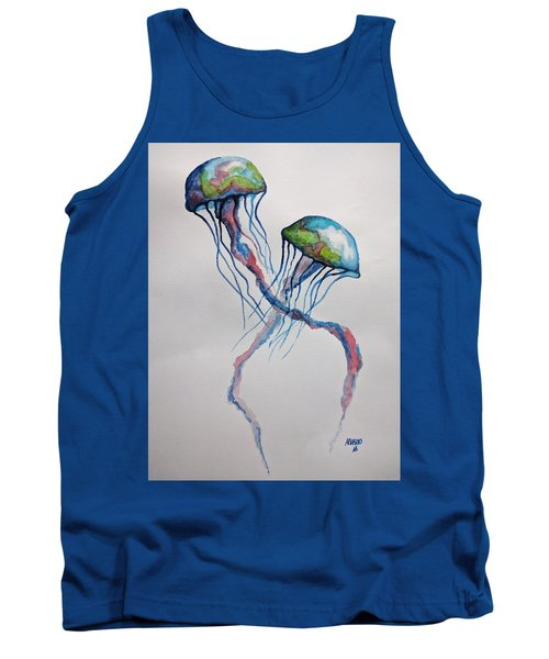 Jellyfish Tank Top by Edwin Alverio