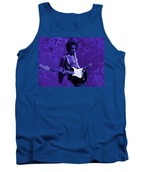 Jimi Hendrix Purple Haze Tank Top