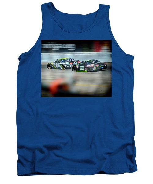 Jimmie Johnson Charging Ahead At Mis Tank Top