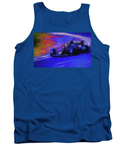 Tank Top featuring the mixed media John Player Special by Marvin Spates