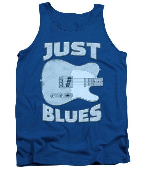 Just Blues Shirt Tank Top