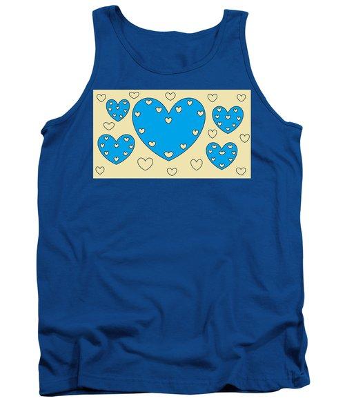 Just Hearts 4 Tank Top