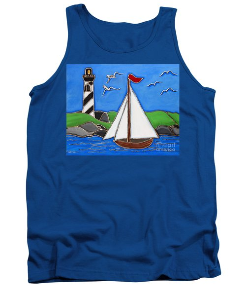 Just Sailing By Tank Top