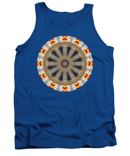 Kaleidos - Ptown03 Tank Top by Jack Torcello