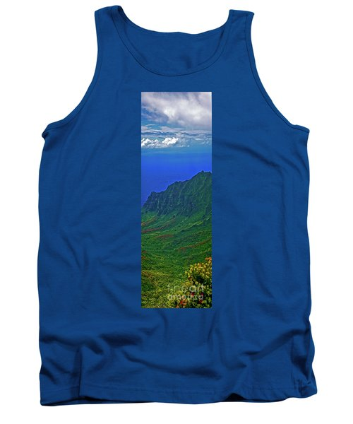 Kauai  Napali Coast State Wilderness Park Tank Top by Tom Jelen