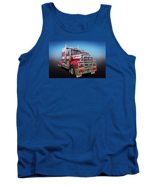 Tank Top featuring the photograph Kenworth by Keith Hawley