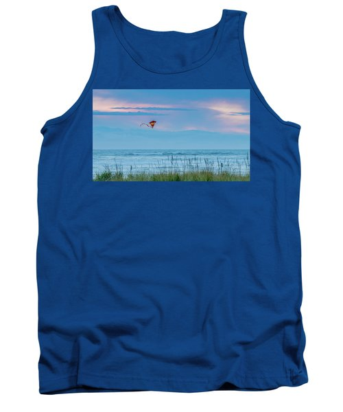 Kite In The Air At Sunset Tank Top
