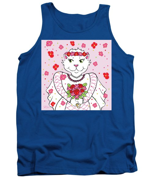 Kitty Bride Tank Top