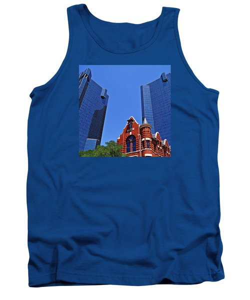 Knights Of Pythias Castle Hall Tank Top by Kathy Churchman