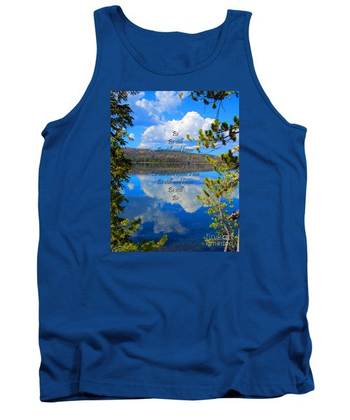 Tank Top featuring the photograph Know I Am by Diane E Berry
