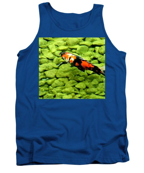 Tank Top featuring the photograph Koy by Christopher Woods
