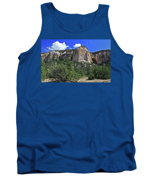 Tank Top featuring the photograph La Ventana Arch by Gary Kaylor