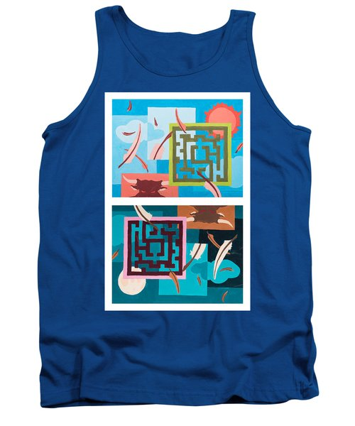 Labyrinth Night And Day Tank Top