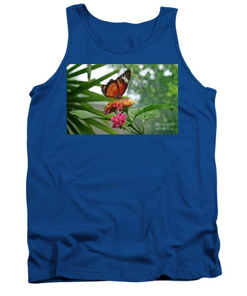 Lacewing Butterfly Tank Top