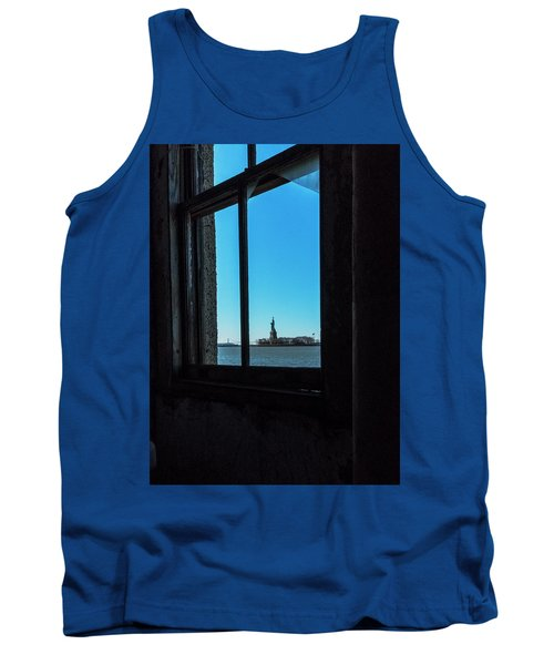 Lady Liberty Tank Top by Tom Singleton