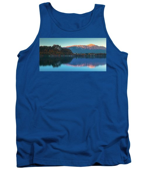 Lake Bled Panorama Tank Top
