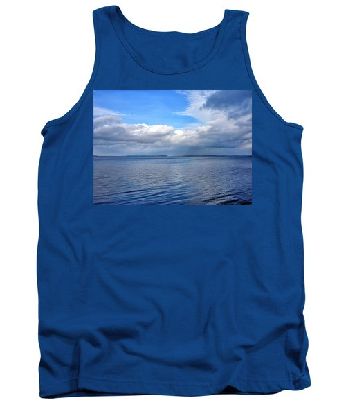 Lake Champlain From New York Tank Top by Brendan Reals