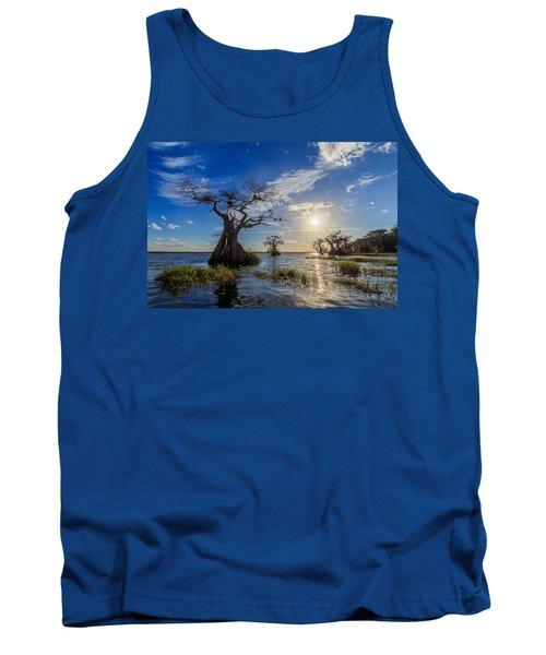 Lake Disston Cypress Paradise Tank Top