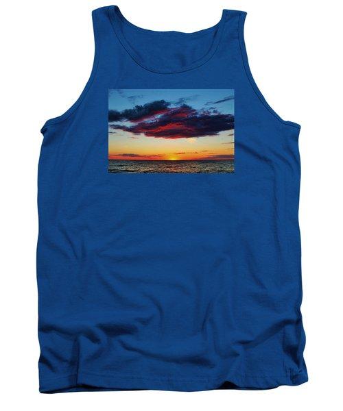 Lake Huron Sunset Tank Top
