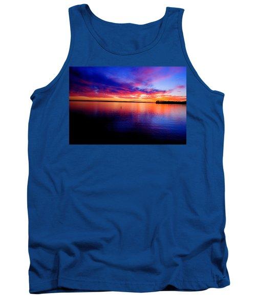 Lake Murray Sunset 21 Tank Top
