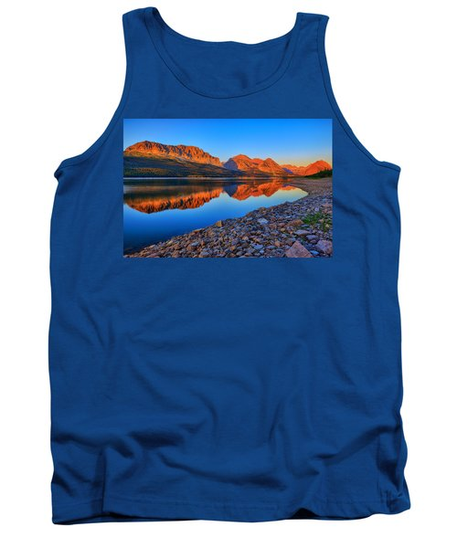 Tank Top featuring the photograph Lake Sherburne Dawn by Greg Norrell