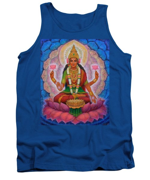 Lakshmi Blessing Tank Top by Sue Halstenberg