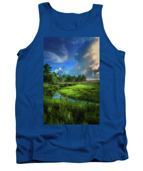 Tank Top featuring the photograph Land Of Milk And Honey by Marvin Spates