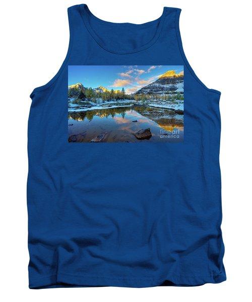 Larch Valley Cloudscape Sunrise Tank Top