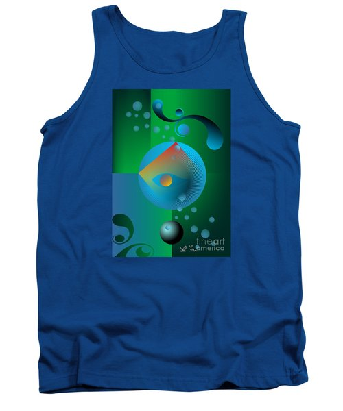 Late Night Prayer Tank Top by Leo Symon