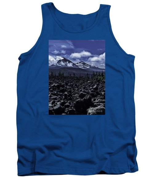 Lava Below The Sisters Tank Top by Nancy Marie Ricketts