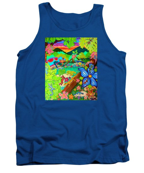 Leapin Lizards Tank Top
