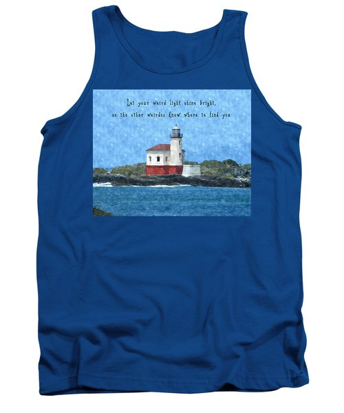Let Your Weird Light Shine Bright Tank Top