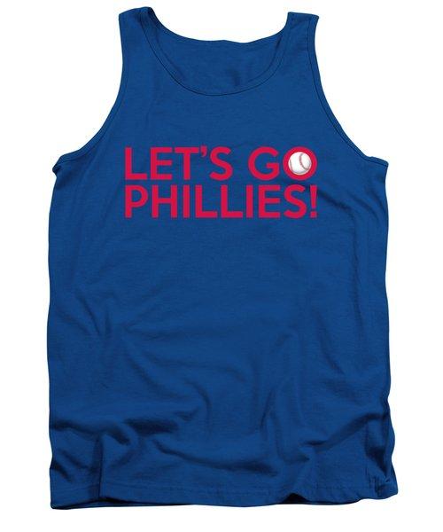 Let's Go Phillies Tank Top
