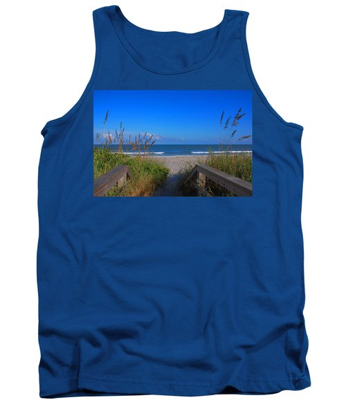 Lets Go To The Beach Tank Top