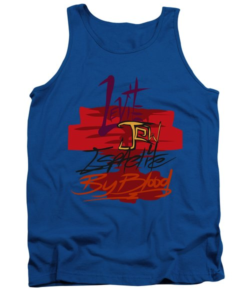 Levite By Blood Tank Top
